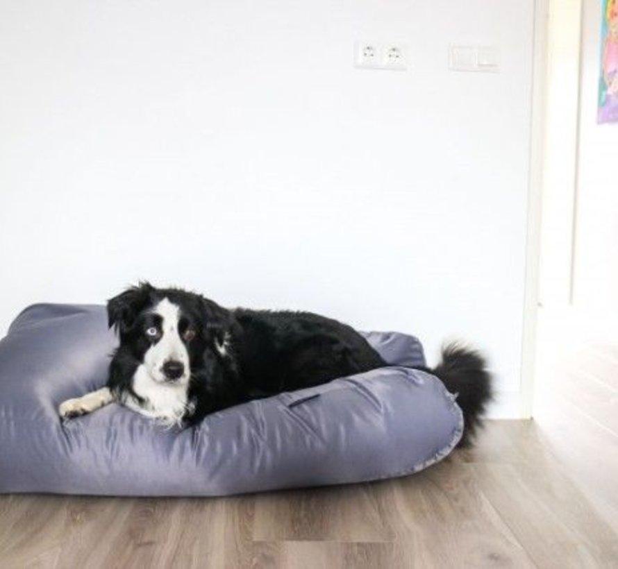 Lit pour chien Gris Acier (coating) Superlarge