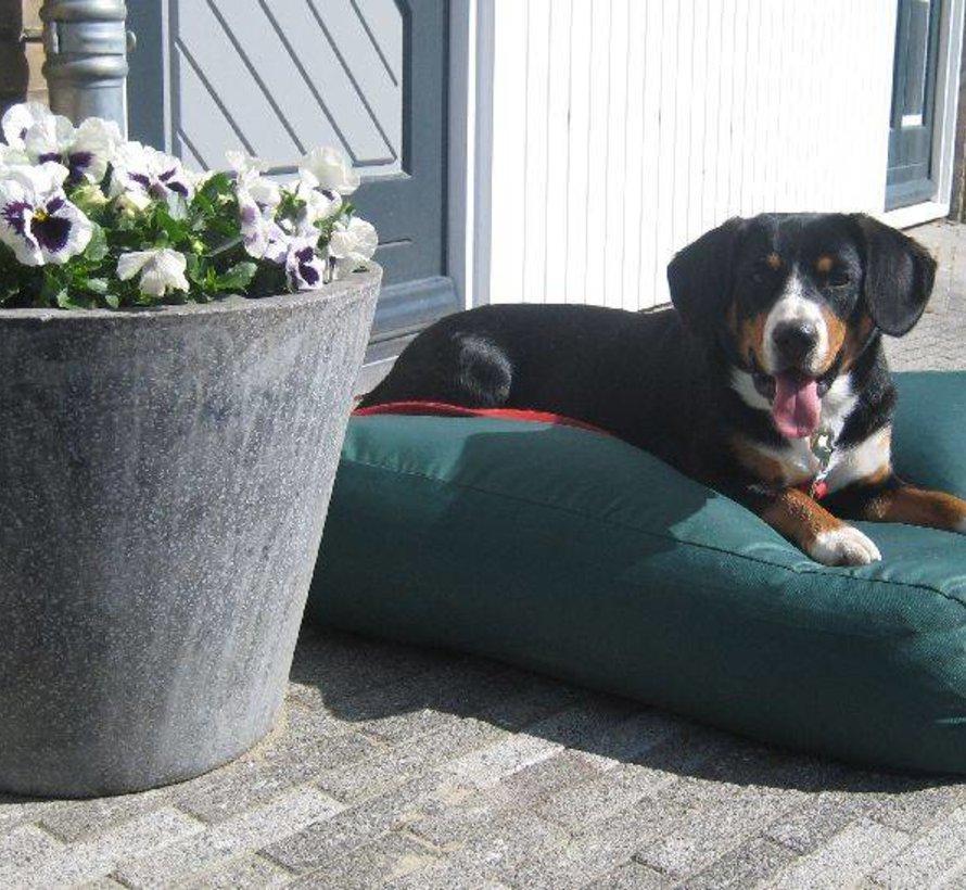 Hundebett Grün (beschichtet) Medium