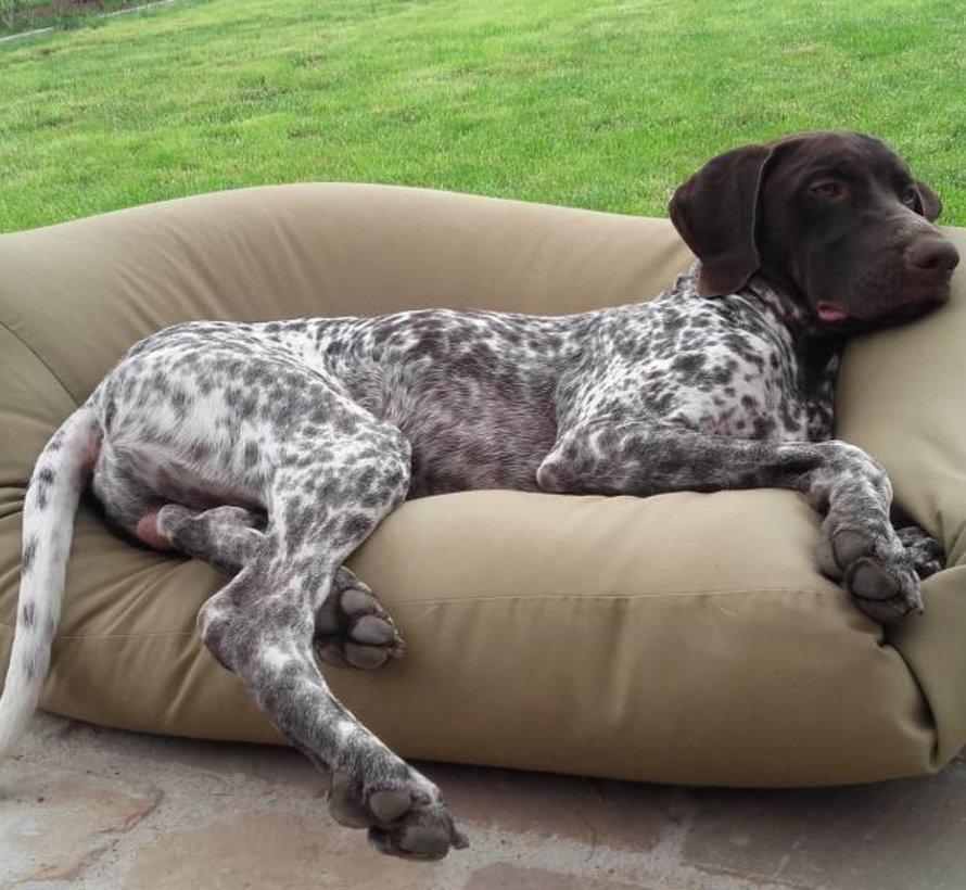 Dog bed khaki (coating) Extra Small
