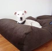 Dog's Companion Dog bed Chocolate Brown (Corduroy) Extra Small