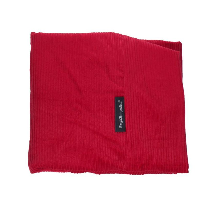 Losse hoes  Rood Ribcord Small