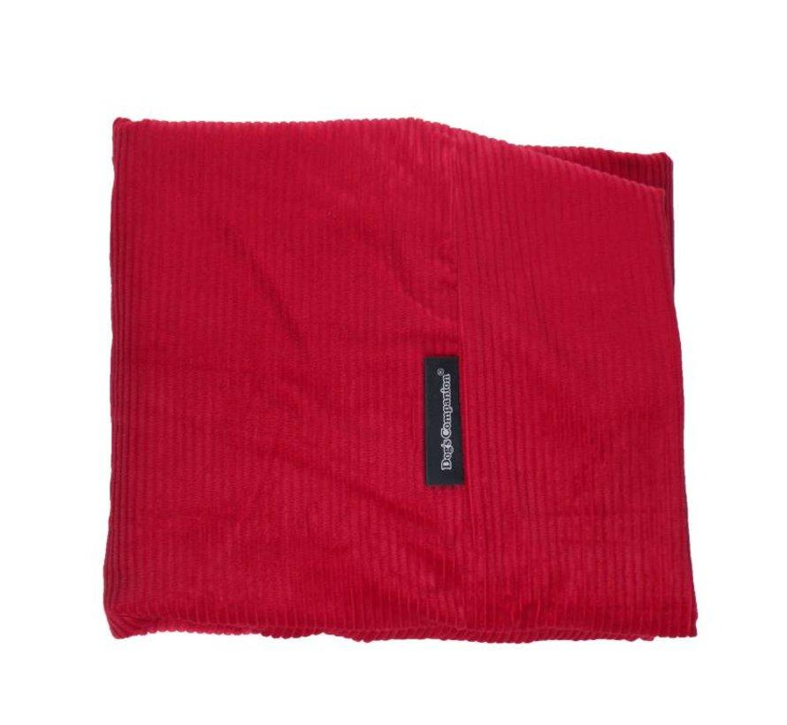 Housse supplémentaire Rouge Brique  (corduroy) Large