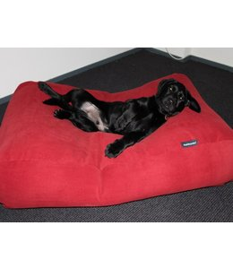 Dog's Companion Hondenbed Extra Small Steenrood Ribcord