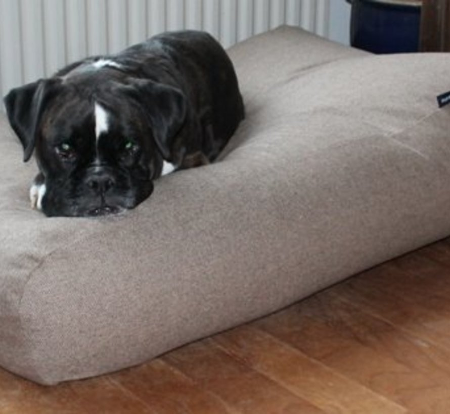 Dog bed Extra Small Tweed light brown