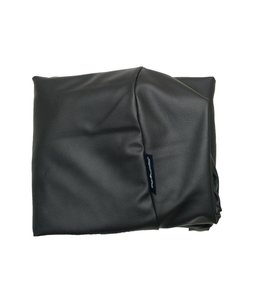 Dog's Companion Hoes hondenbed zwart leather look Extra Small