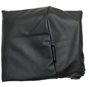 Dog's Companion Extra cover black leather look Medium