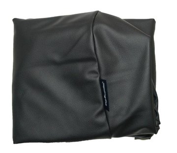Dog's Companion Bezug schwarz leather look Medium