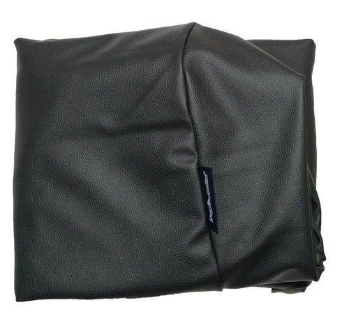 Dog's Companion Extra cover black leather look Medium