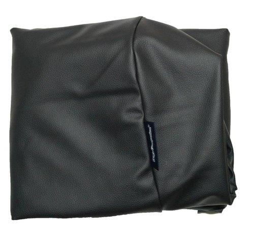 Dog's Companion Hoes hondenbed zwart leather look Large