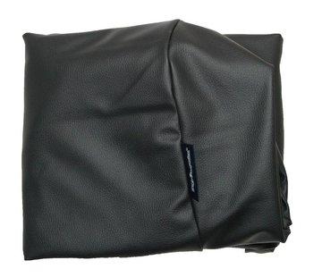 Dog's Companion Bezug schwarz leather look Superlarge