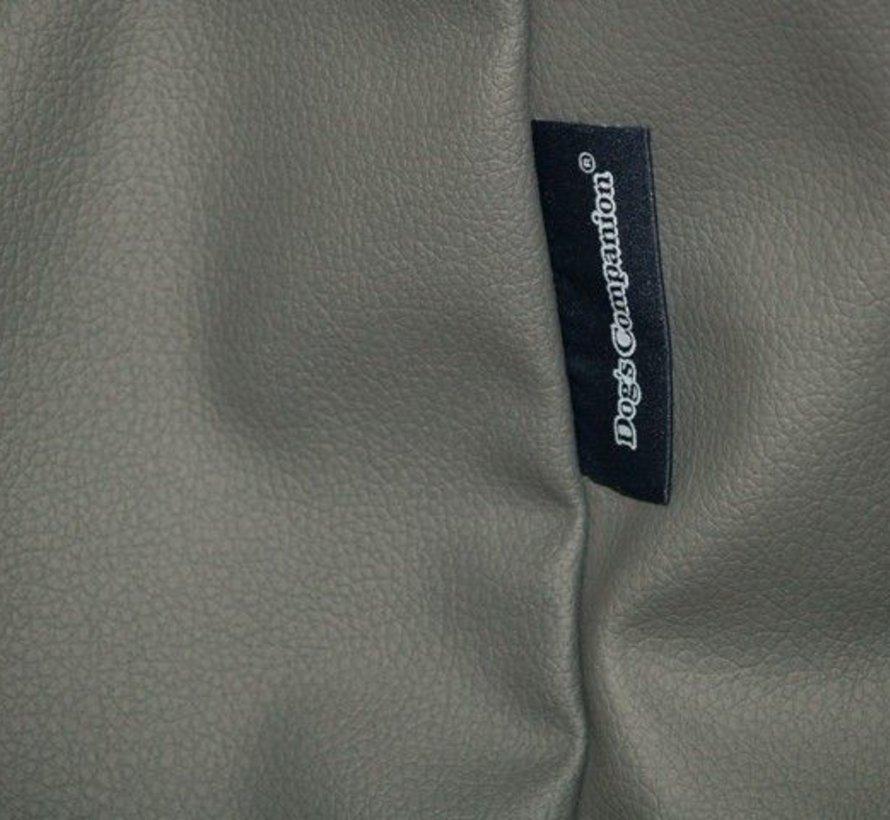 Bezug mausgrau leather look Medium