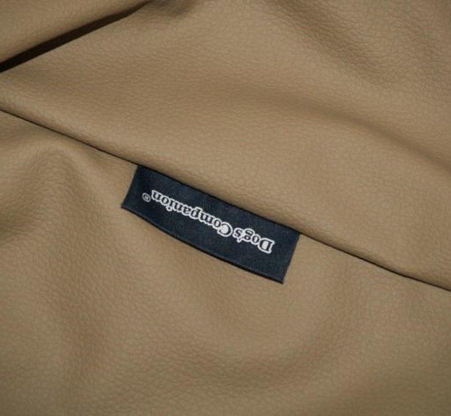 Bezug taupe leather look Medium
