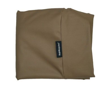 Dog's Companion Hoes hondenbed taupe leather look Superlarge