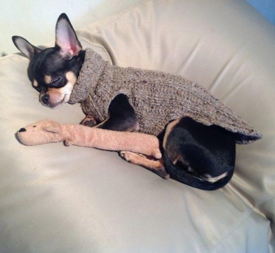 Hundebett Extra Small Beige (beschichtet)
