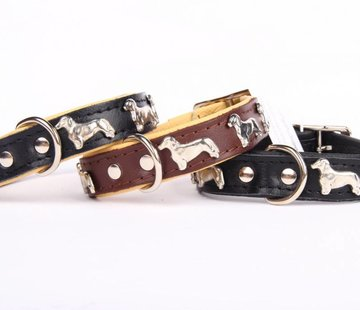 Leather collar (Dachshund)