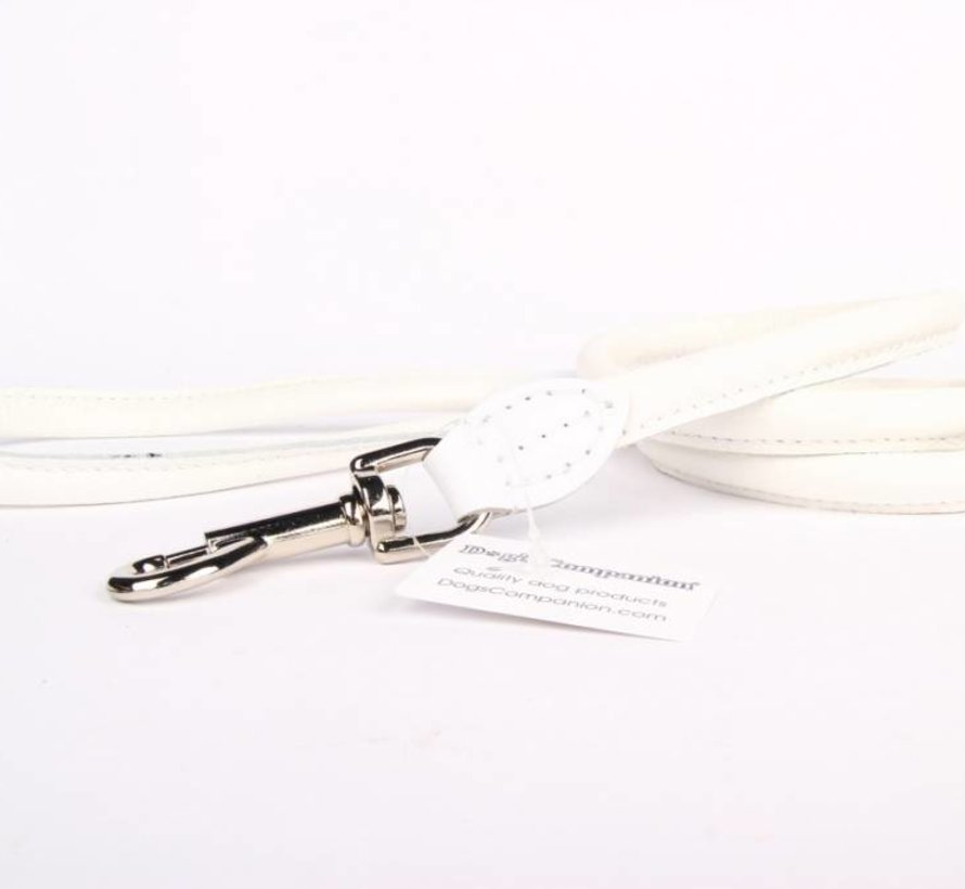 Leather round leashes