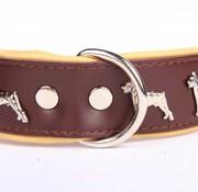 Lederhundehalsband Dobermann
