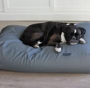 Dog's Companion Hundebett mausgrau leather look Medium