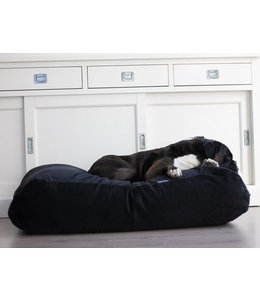 Dog's Companion Dog bed Black (Corduroy)