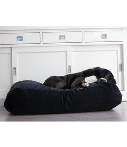 Dog's Companion Hundebett Schwarz (Cord) Small