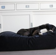 Dog's Companion Hundebett Schwarz (Cord) Superlarge