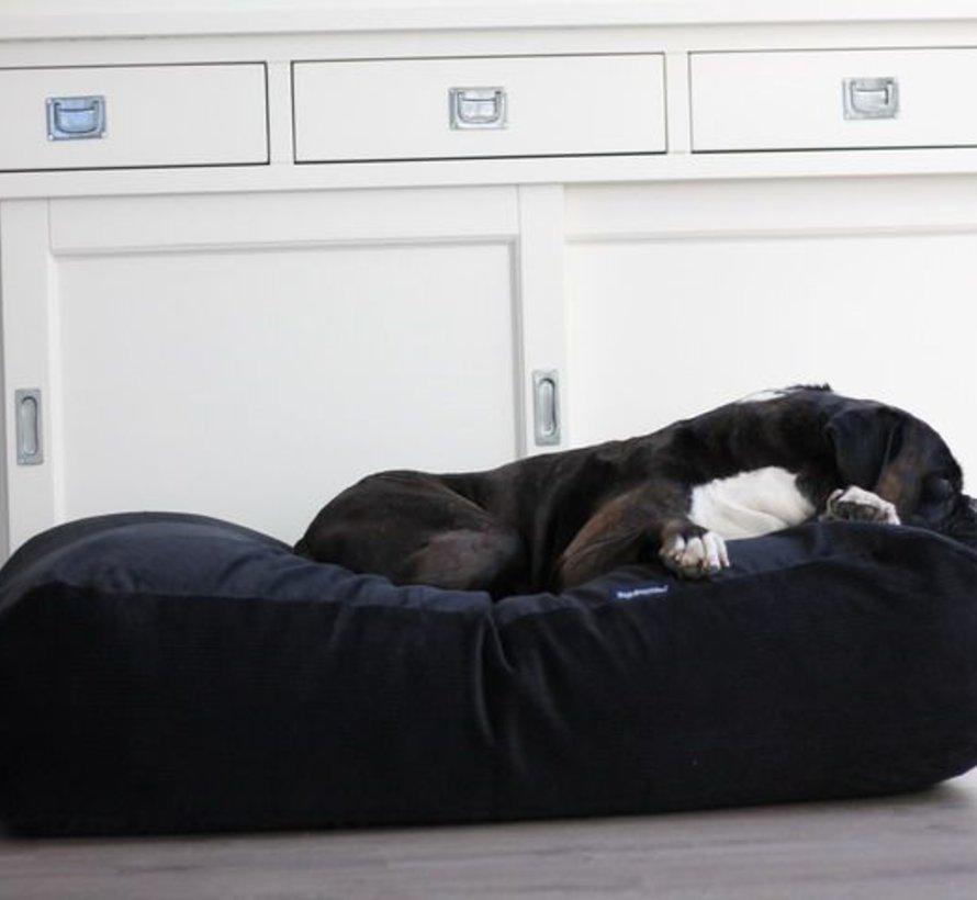 Dog bed Black (Corduroy) Medium
