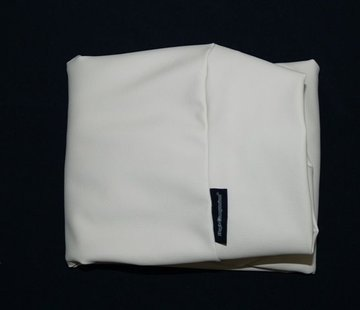 Dog's Companion Hoes hondenbed ivory leather look