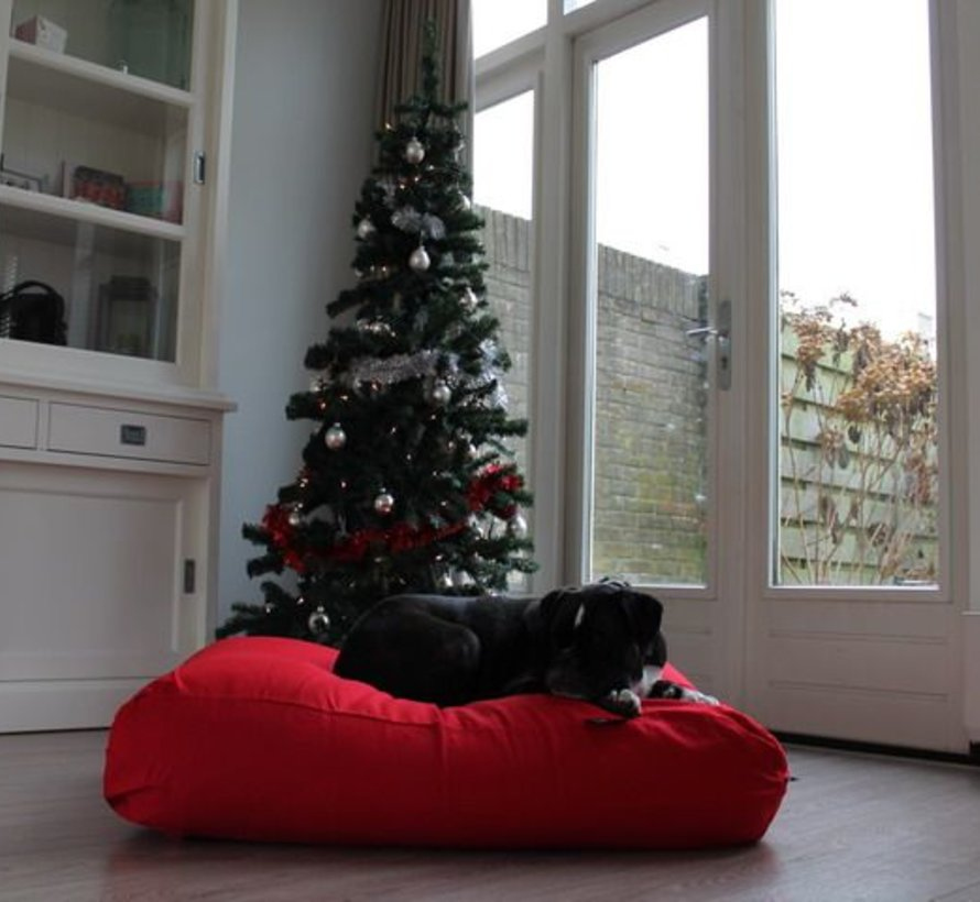 Dog bed Red
