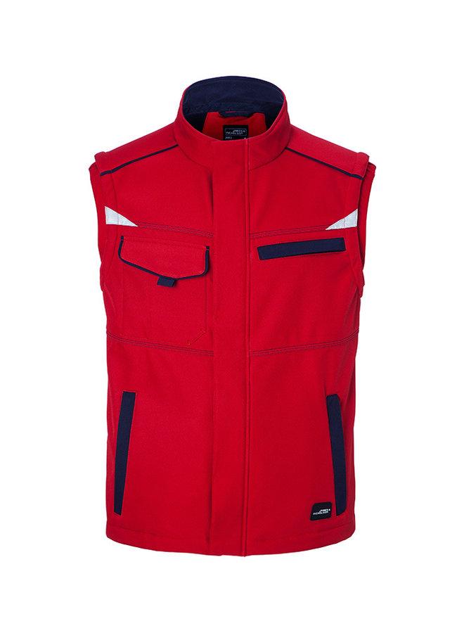 Softshell Workwear Weste-Gilet (auch bedruckt mit Firmenlogo)