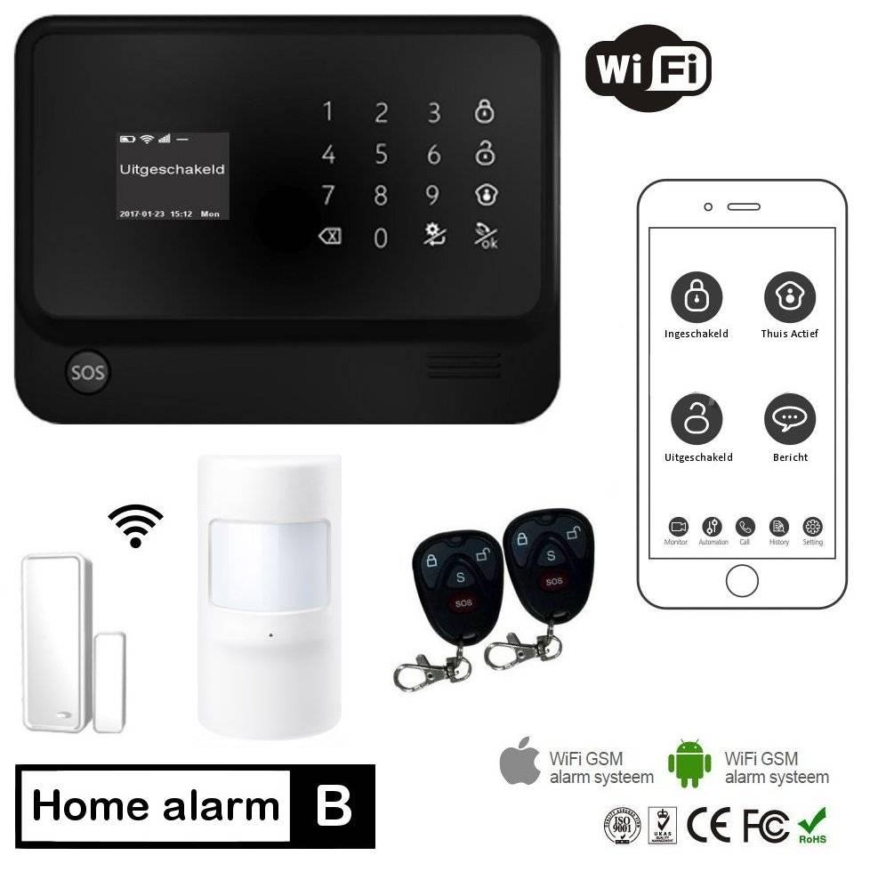 Eye Home Alarm Basis met Wifi en gratis App