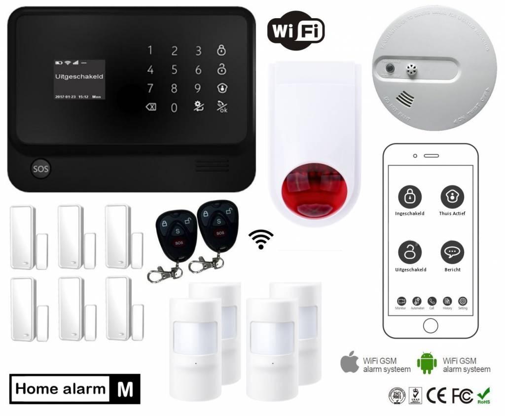 Eye Home Alarm M met Wifi en gratis App