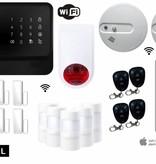 Eye Home Alarm L met Wifi en gratis App