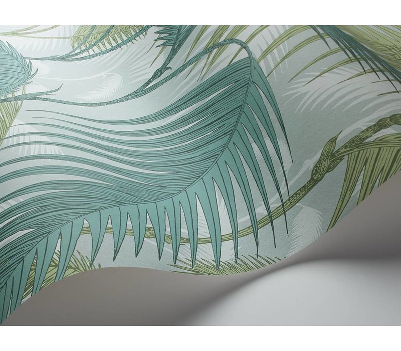 Cole & Son behang Palm Jungle - Icons Collectie