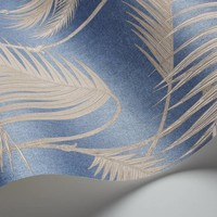 Cole & Son behang Palm Jungle (metallic)