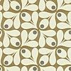Orla Kiely Orla Kiely - Acorn Spot  Brown