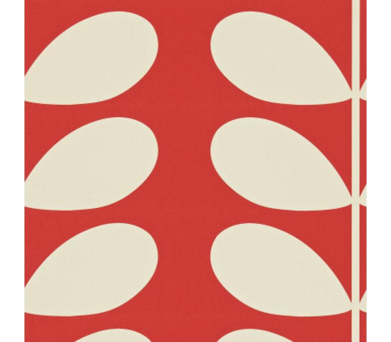 Orla Kiely  - Giant Stem  Red