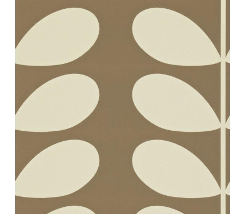 Orla Kiely  - Giant Stem  Brown
