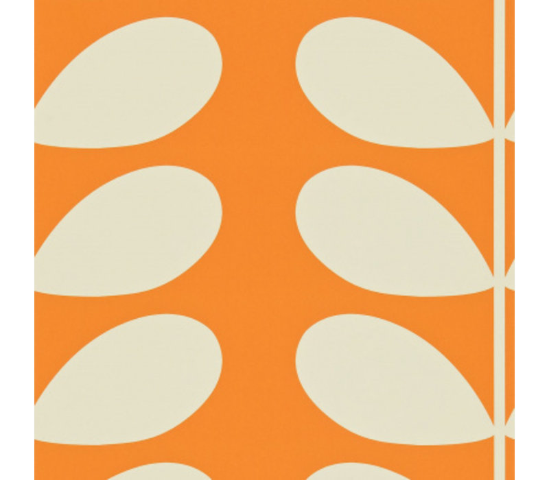 Orla Kiely  - Giant Stem Orange