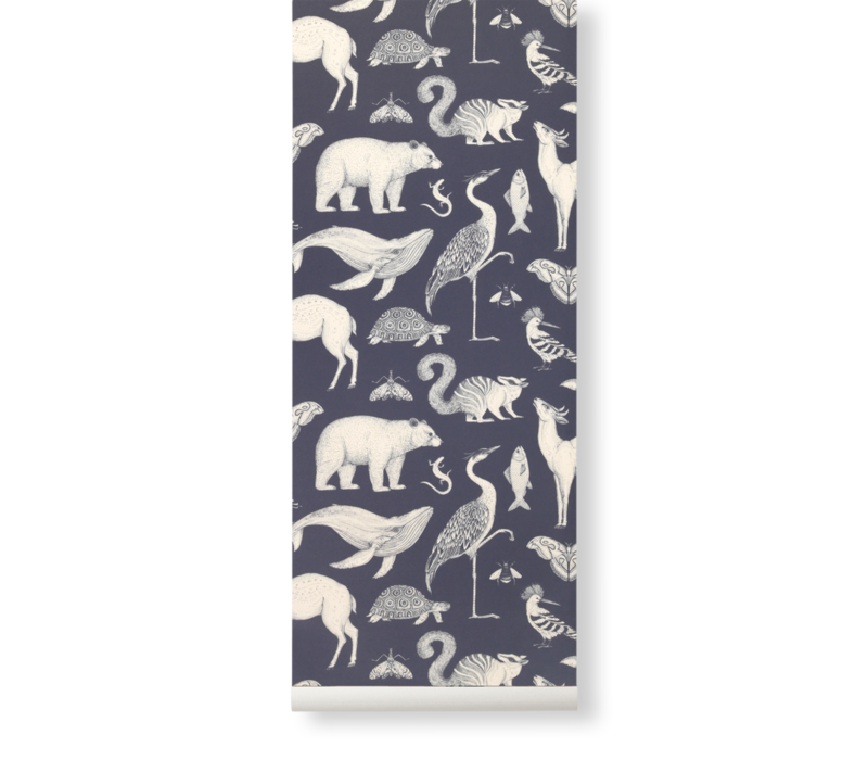 Ferm Living - Katie Scott Wallpaper Animals
