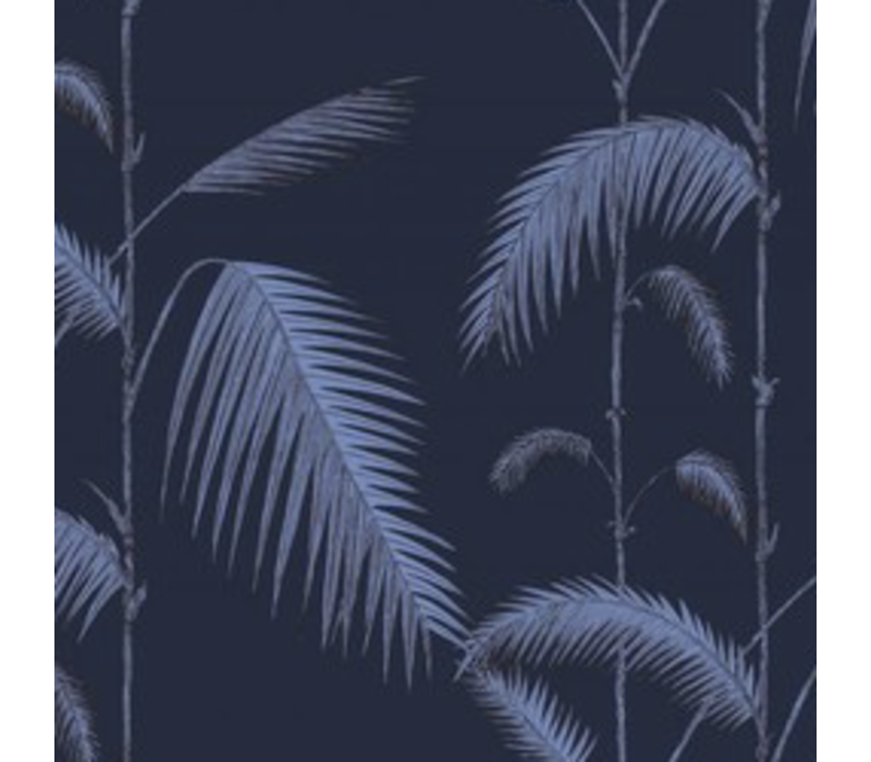 Palm leaves 112-2008 (Donker Blauw)