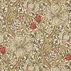 Morris & Co Morris & Co -Golden lily Biscuit/Brick