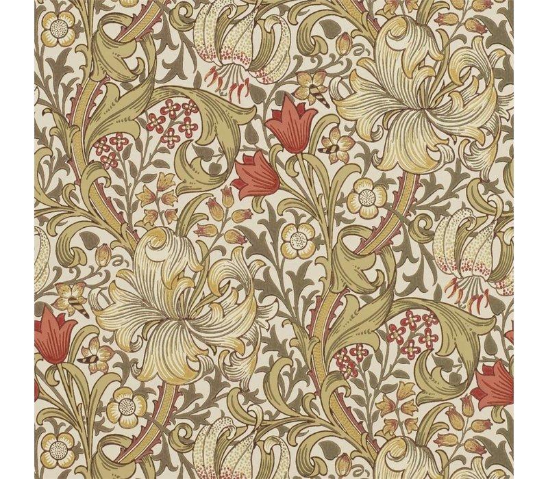 Morris & Co -Golden lily Biscuit/Brick