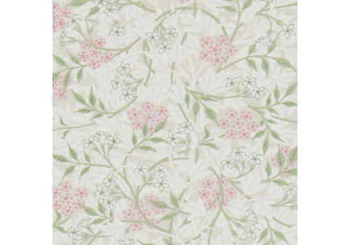 Morris & Co Jasmine Blossom Pink/Sage