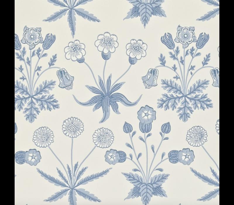 Morris & Co - Daisy Blue/Ivory