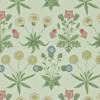Morris & Co Morris & Co - Daisy Pale Green/Rose