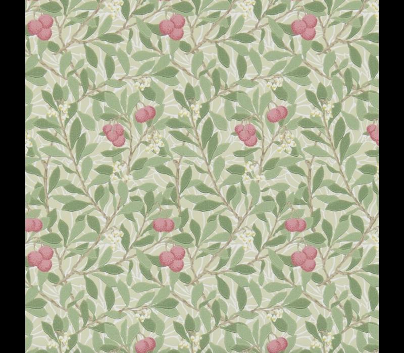 Morris & Co - Arbutus Olive/Pink