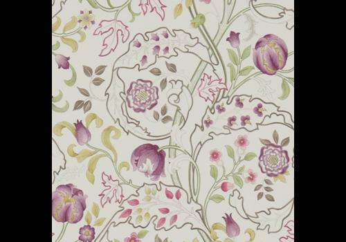 Morris & Co Mary Isobel Wine/Linen
