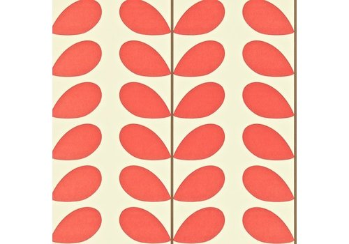 Orla Kiely behang Classic Stem - Poppy