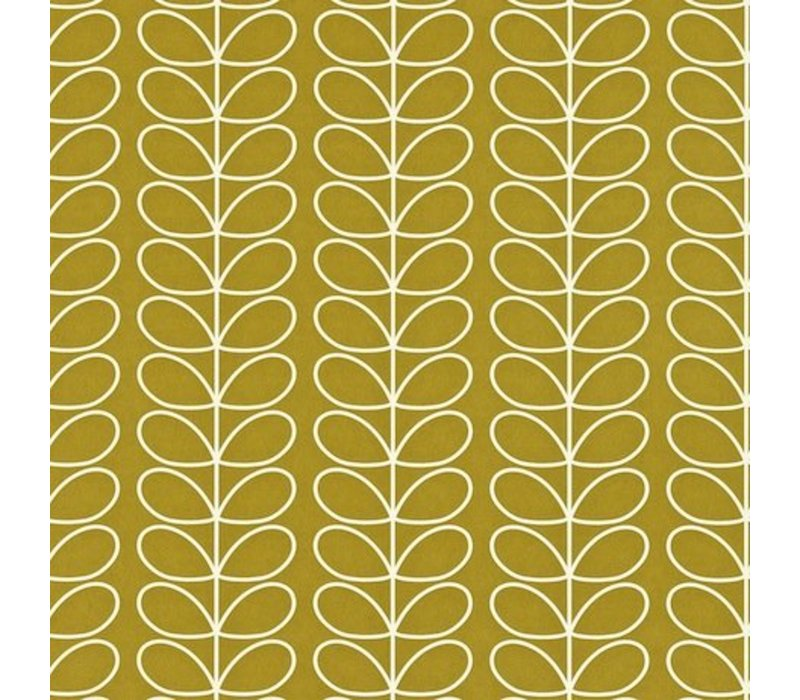 Orla Kiely - Linear Stem Olive Green