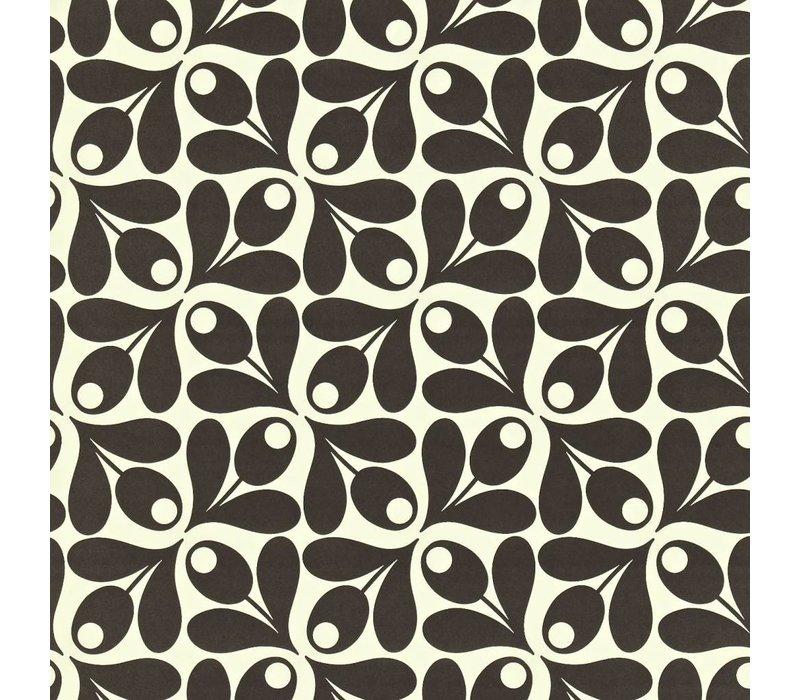 Orla Kiely - Small Acorn Cup Black
